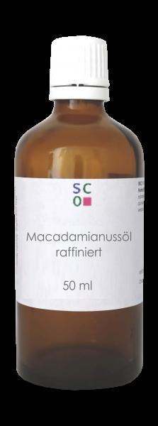 Macadamianussöl raffiniert