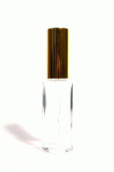 Zerstäuber Mini (klar, Kappe gold) 7 ml