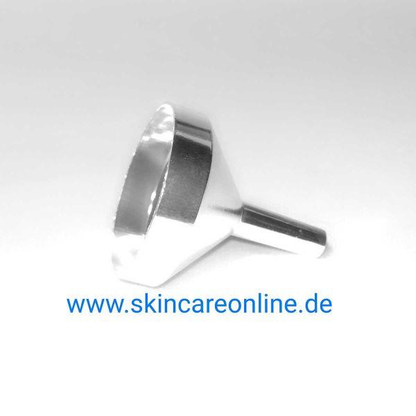 Parfümtrichter (Metall) silberfarben