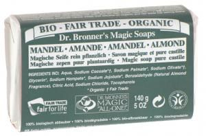 Dr. Bronner's - Magic Soap Seife Mandel 140 g