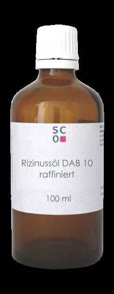 Rizinussöl raffiniert DAB 10